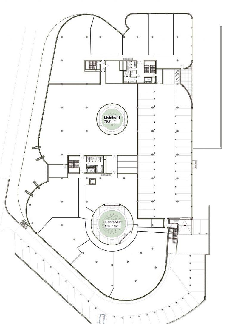 1 Obergeschoss | Halten Business Center Pfäffikon Schwyz