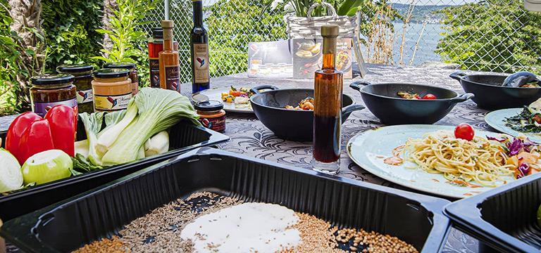 Meera's Finest asiatische kuche gourmet restaurant take away Pfäffikon SZ